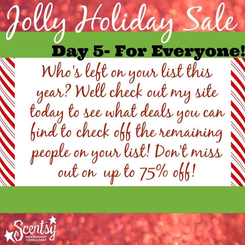Scentsy Sale Everyone