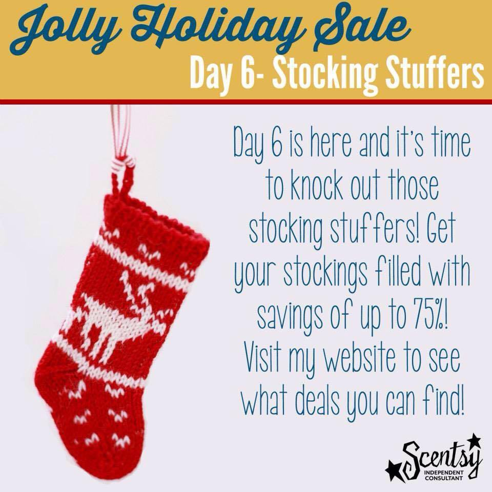 Scentsy Stocking Stuffers