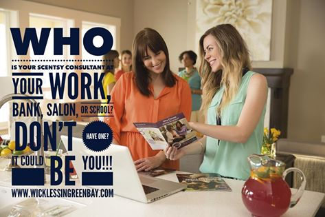 Who is your Scentsy Consultant