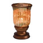 Amber Fluted Lampshade Scentsy® Warmer