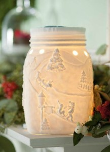 Holiday Mason Jar Warmer
