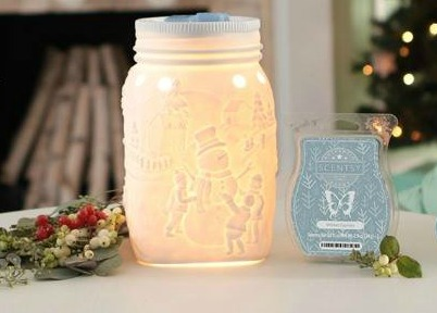 Scentsy Warmer of the Month - Let it Snow