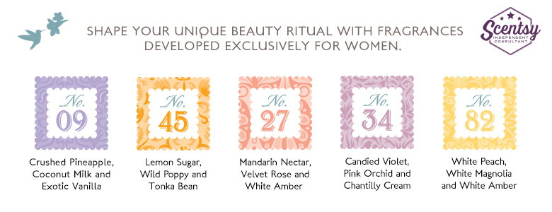 Scentsy Womens Skin Care