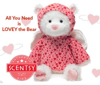 Scentsy Buddy - Lovey the Bear