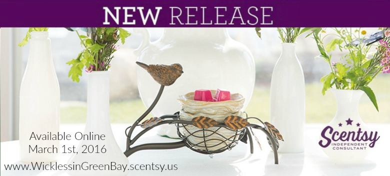 Scentsy Nest Warmer New Spring 2016barbara Volkema