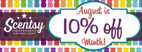 10% Off August 2016