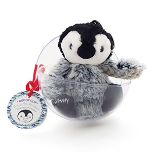Scentsy Pixie the Penguin Buddy Clip