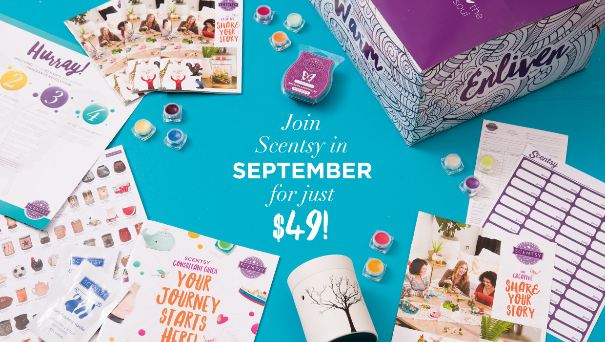 Join Scentsy $49 August