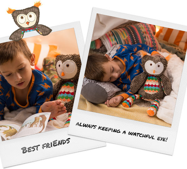 Olympia the Owl - Scentsy Buddy