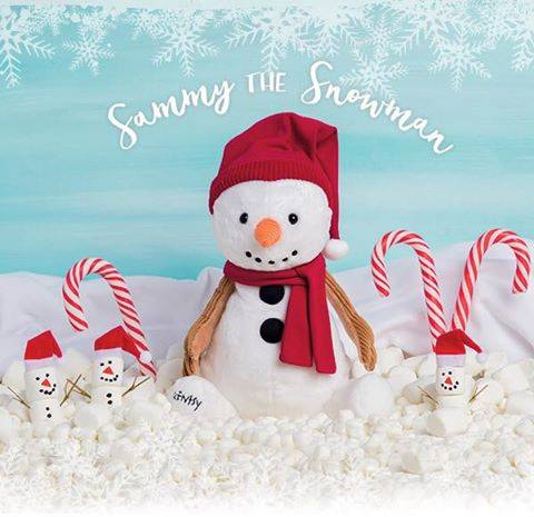 Sammy the Snowman Scentsy