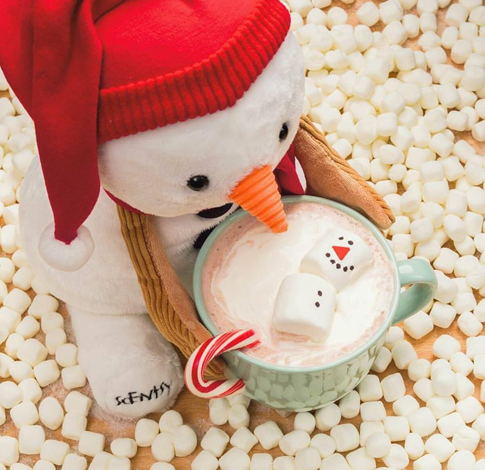 Sammy the Snowman Scentsy Buddy