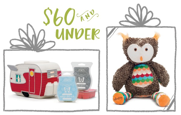Scentsy Gifts $60 and under
